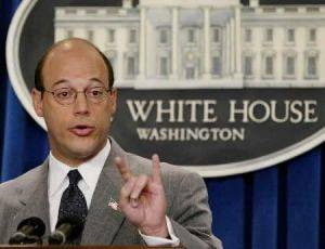 Former Bush White House Press Secretary Ari Fleischer now owns his own sports PR firm