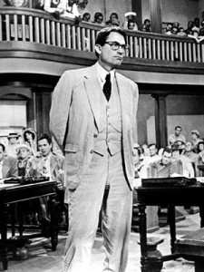 "Who can forget Gregory Peck's performance as Atticus Finch in 1962's ""To Kill a Mockingbird""?"