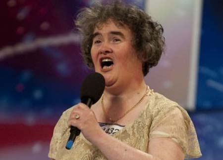 "Susan Boyle performed Saturday on ""Britain's Got Talent""."